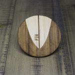 Surfboard Pintail Coaster Design